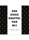 DIKKE KNUFFEL •  CHOCOLADEWENS_