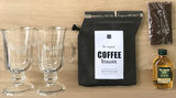 Irish coffee gift set, inclusief 2 glazen_