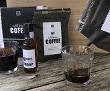 Cold Brew coffee gift set, inclusief 2 glazen_