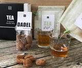 Teabrewer gift set met chocolade-kaneel dadels_