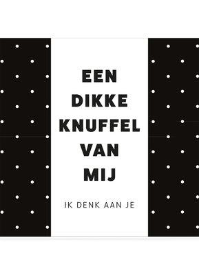 DIKKE KNUFFEL •  CHOCOLADEWENS