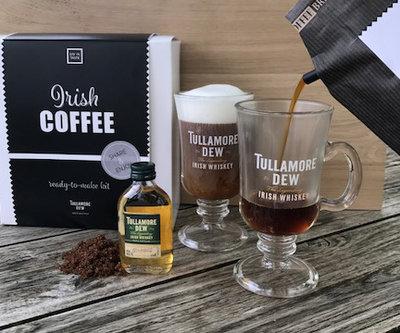 Irish coffee gift set, inclusief 2 glazen