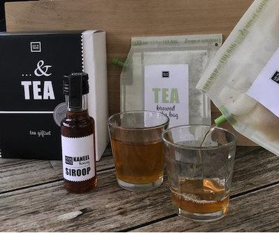 Teabrewer gift set met siroop