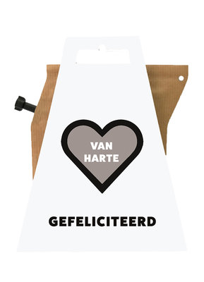 VAN HARTE GEFELICITEERD coffeebrewer gift card