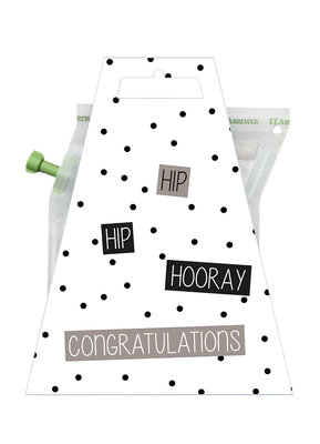 HOORAY CONGRATULATIONS teabrewer gift card