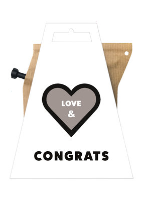 LOVE & CONGRATS coffeebrewer gift card