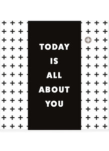 TODAY IS ALL ABOUT YOU  •  CHOCOLADEWENS