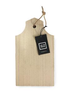 Beuken serveerplank GRACHTENHUIS *klein* model A 27 x 15 cm
