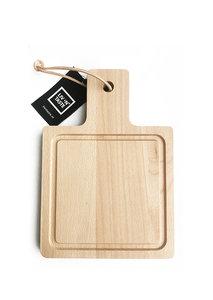 Beech board square 17 X 22 cm
