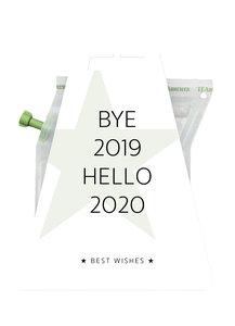 BYE 2019 HELLO 2020 TEABREWER