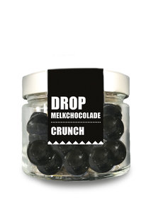 Drop in melkchocolade crunch