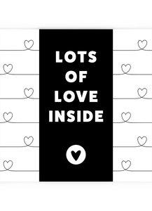 LOTS OF LOVE  •  CHOCOLADEWENS HART
