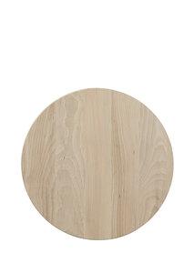 *ACTIE* Beuken plank 35 cm, rond