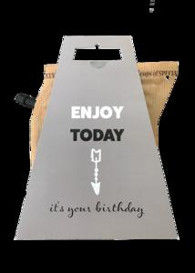 ENJOY TODAY * BIRTHDAY coffeebrewer gift card