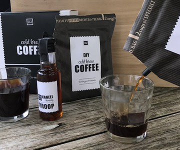 Cold Brew coffee gift set, inclusief 2 glazen