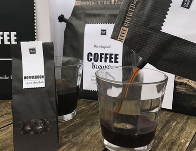 &Coffee gift set met koffieboon