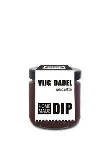 Vijg-dadel-amaretto dip